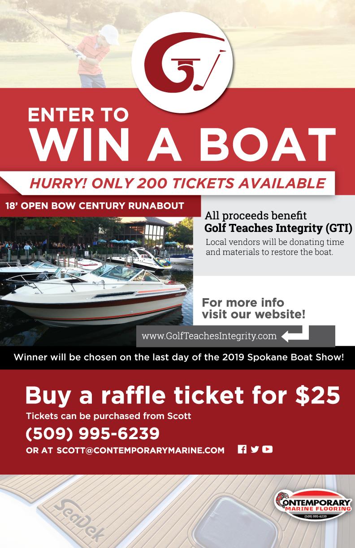 Win a free boat